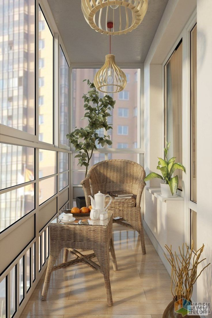 Балкон навесной дизайн фото