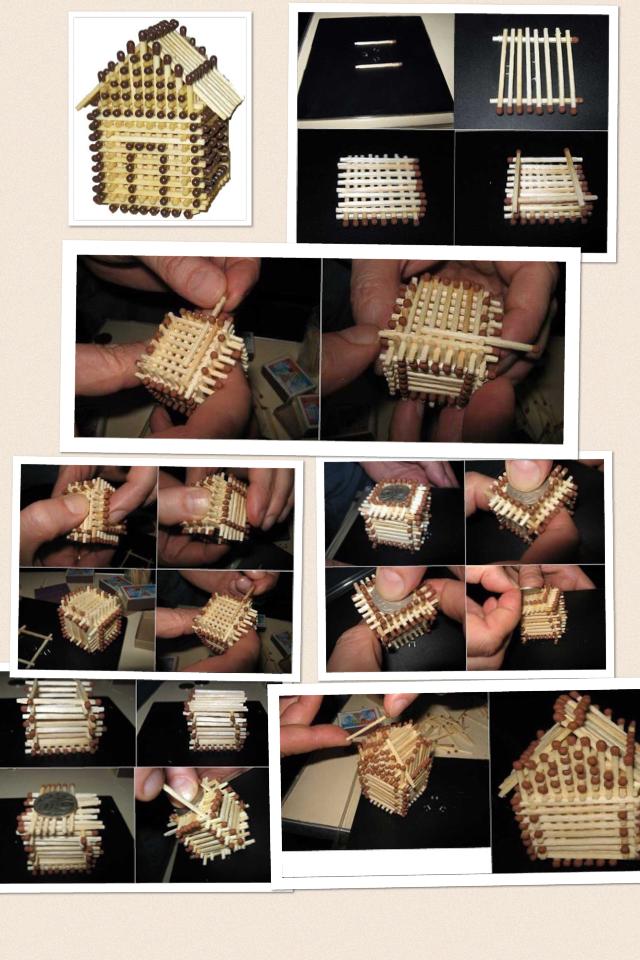домики из спичек схемы для начинающих фото интересующая информация находится