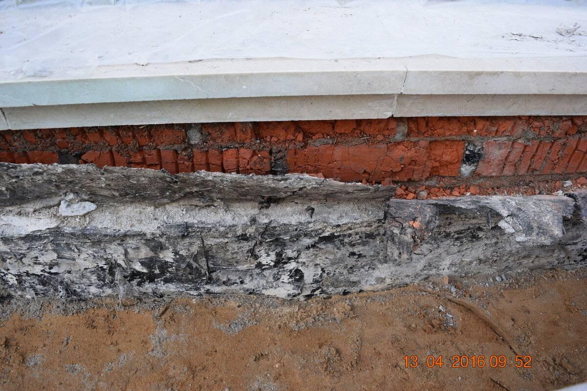 Чем пропитать фундамент от влаги. защита фундаментов от коррозии, промерзания и разрушения