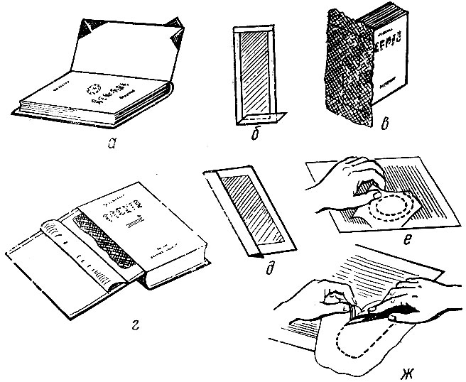 Реставрация книги в домашних условиях: пошаговый алгоритм действий