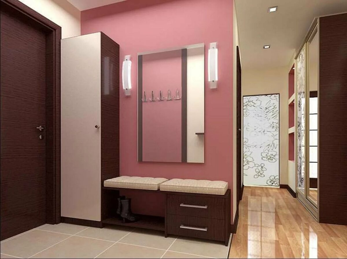 прихожая дизайн интерьера фото в квартире для маленьких прихожих угловых бань