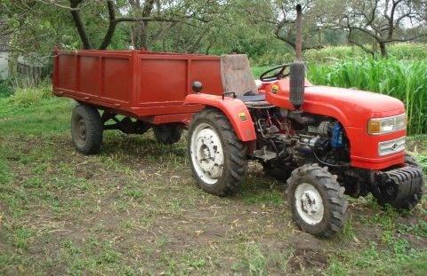 Обзор характеристик и цен на все популярные модели мини тракторов (видео)