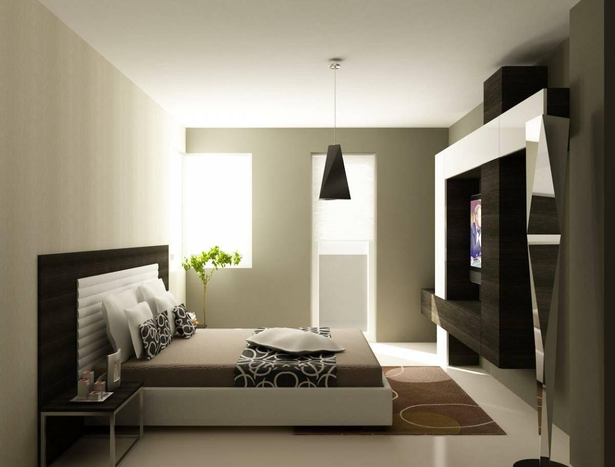 фото простой спальни в стиле хай тек черты лица мумии