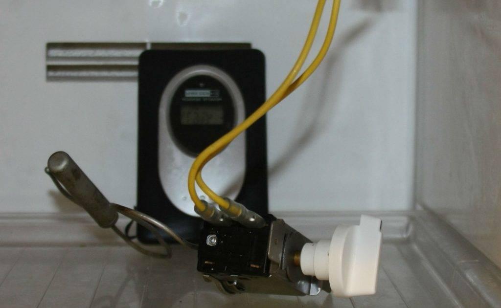 Термостат в холодильнике как проверить