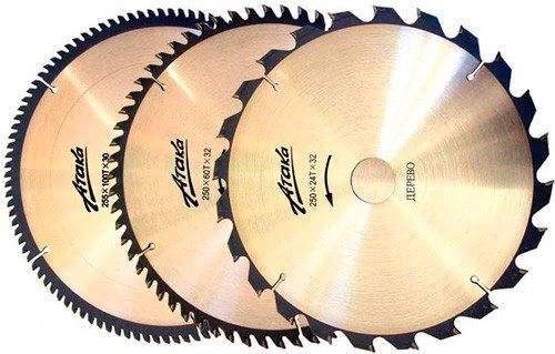 Особенности и выбор дисков для циркулярной пилы