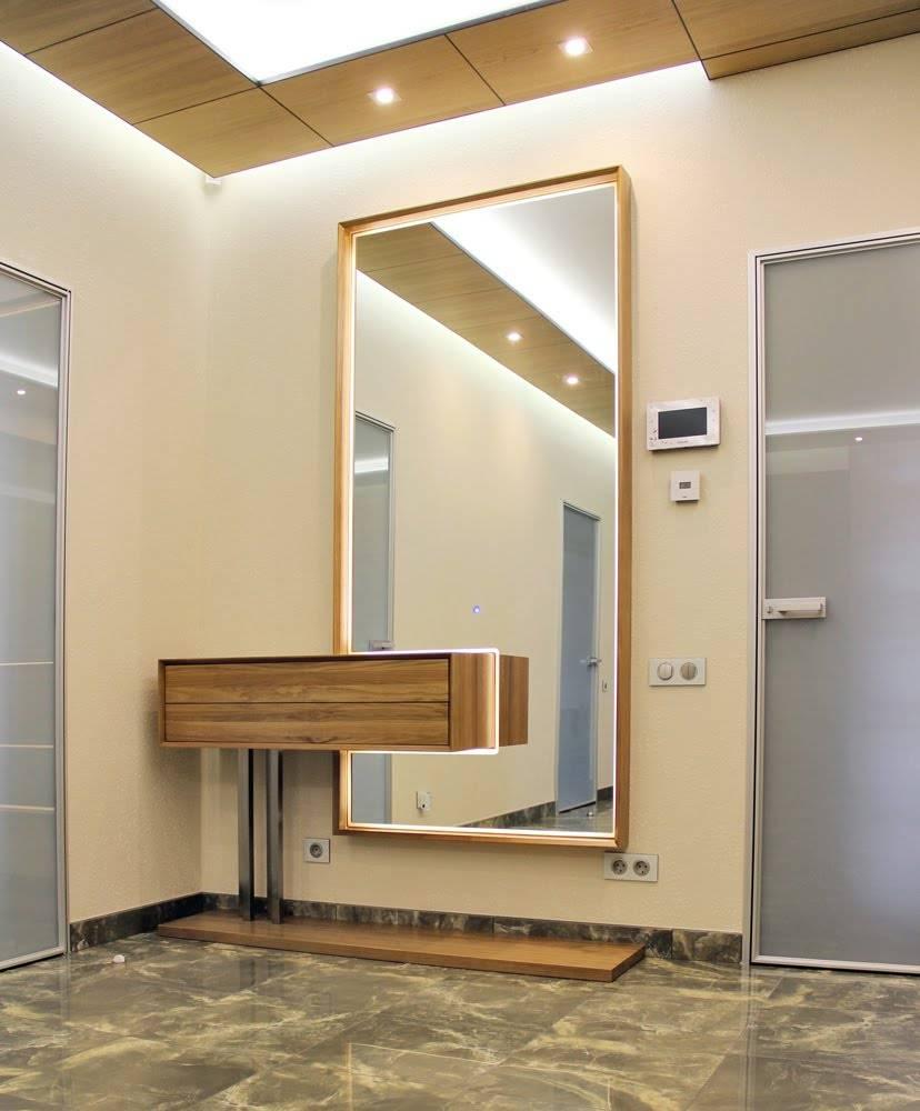 Идеи дизайна прихожей с зеркалами