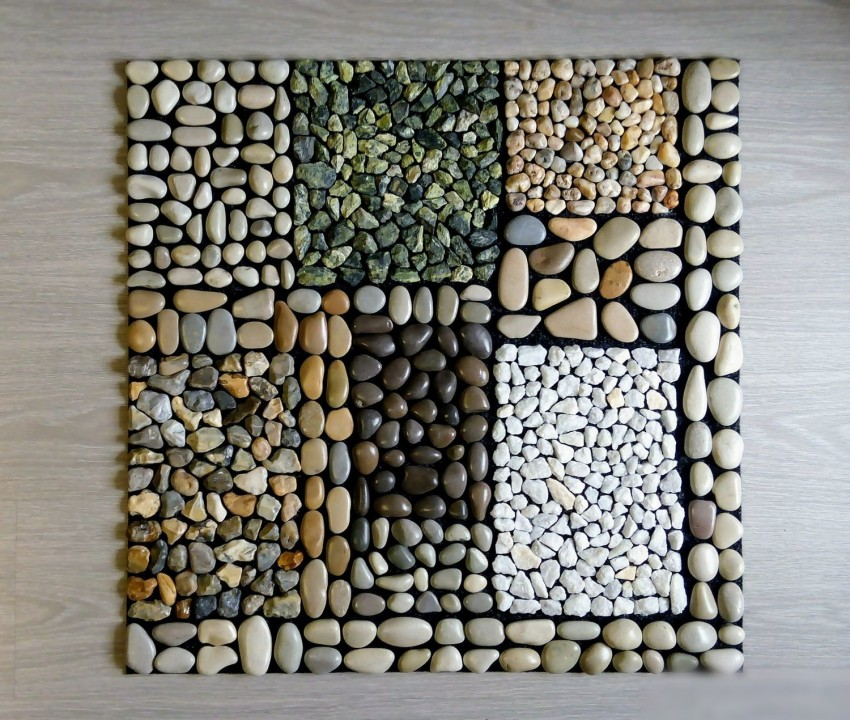 Что можно сделать из морских камушек фото