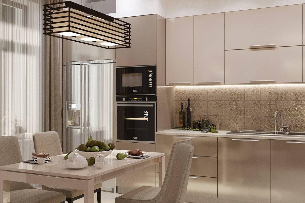 кухня светлого цвета фото условиях
