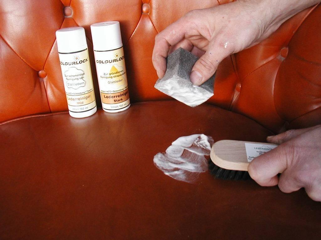 Как оттереть ручку с кожи и кожзама