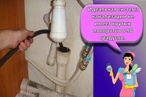 Засор в трубах: устранение в домашних условиях, чем прочистить канализацию, применение народных средств