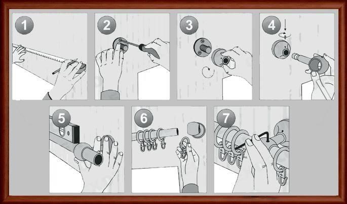 Как повесить карниз для штор: крепление и монтаж к стене, пошаговая видео-инструкция