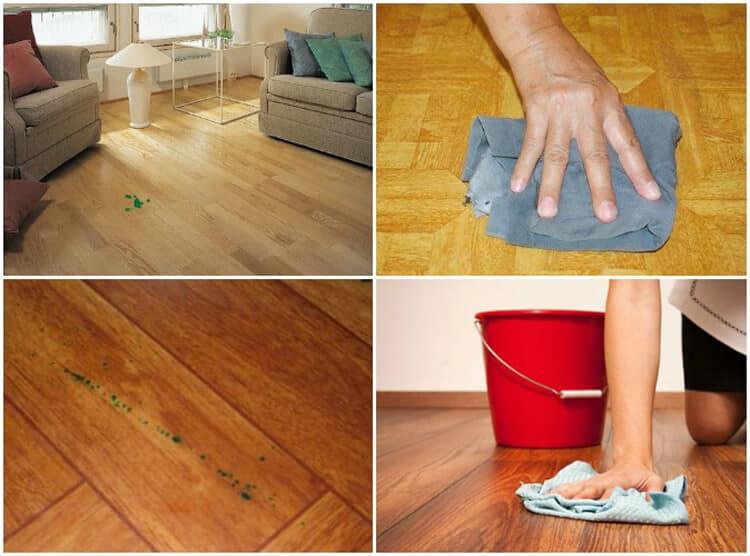 Чем оттереть краску с линолеума: как убрать и отмыть акриловые, масляные, водоэмульсионные, засохшие пятна в домашних условиях