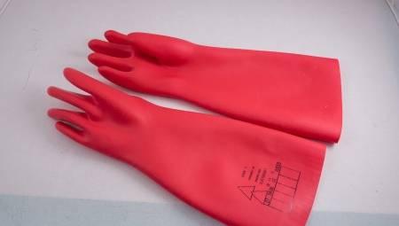 Как проверить диэлектрические перчатки?