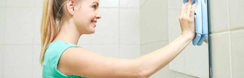 Как правильно мыть зеркала в комнате и ванной