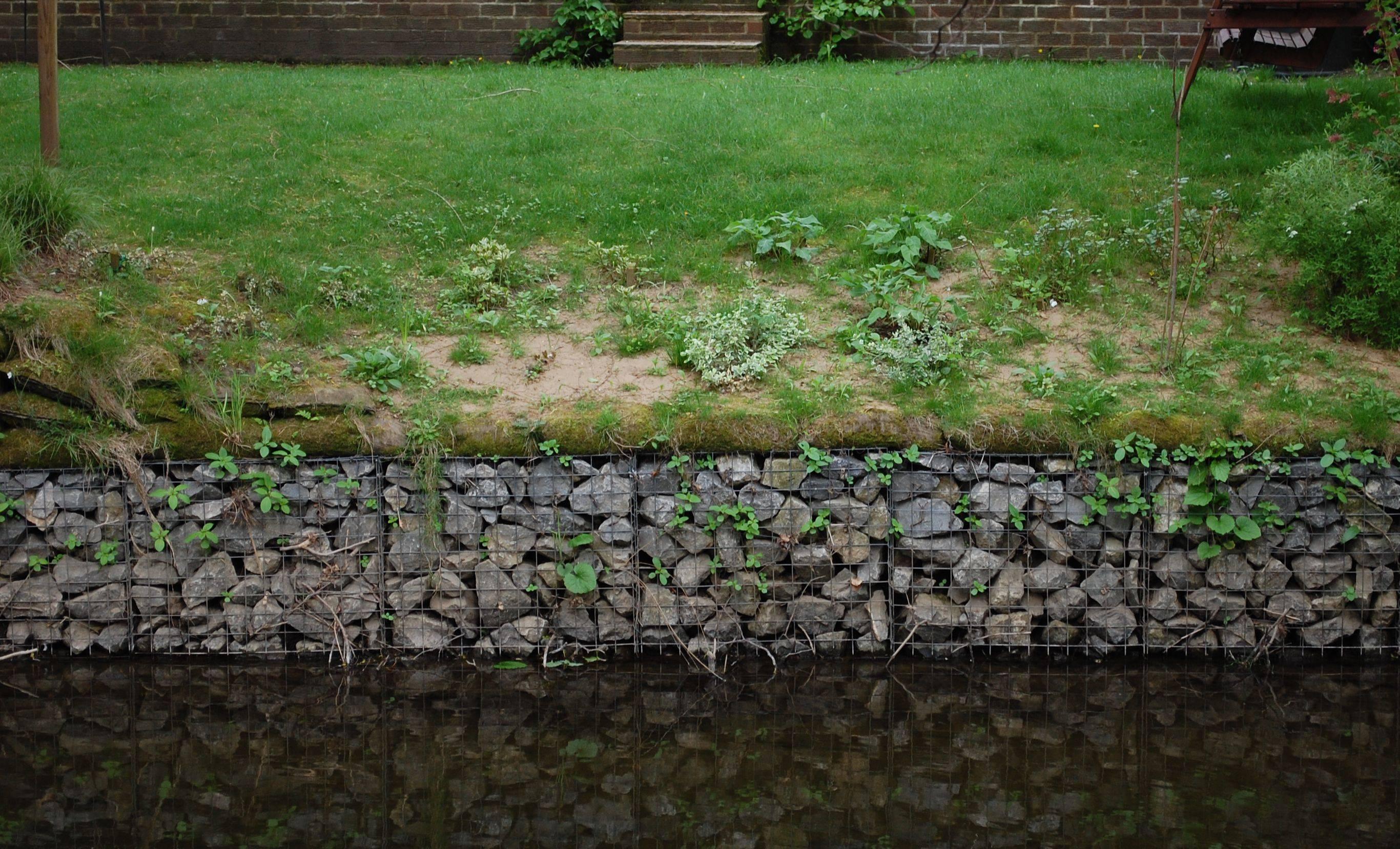 Как можно надежно укрепить берег реки своими руками?