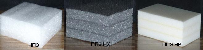 Сшитый пенополиэтилен (полиэтилен)
