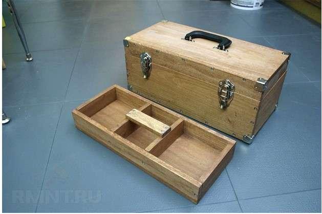 Ящик для инструментов своими руками – схемы, чертежи, фото