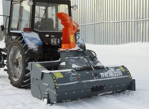 Обзор 6 популярных моделей снегоуборочных машин на базе мтз