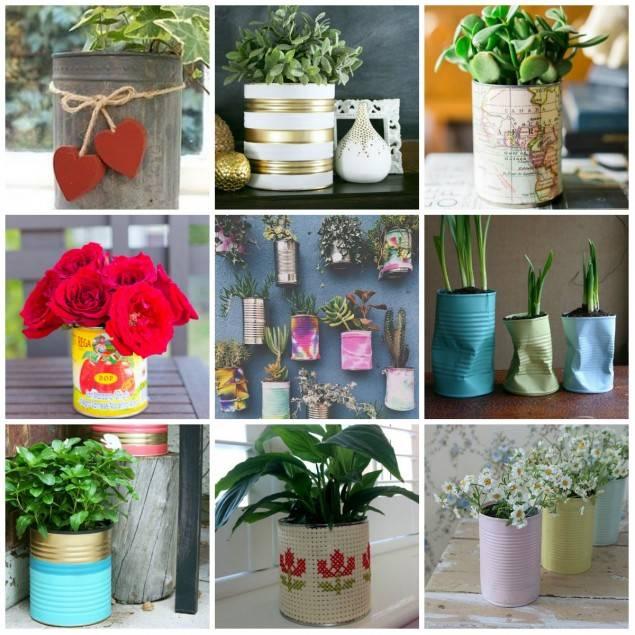Кашпо для цветов своими руками: 100 фото-идей
