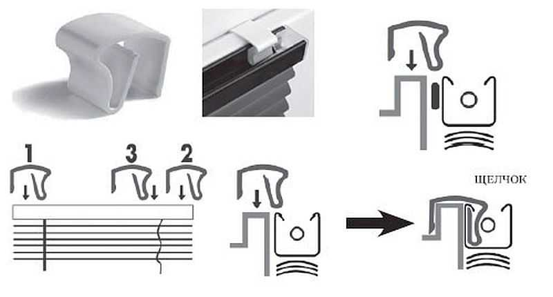 Как правильно установить жалюзи на пластиковые окна