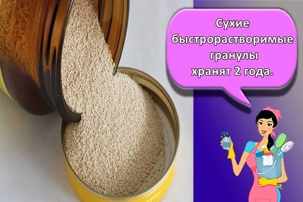 Как хранить дрожжи в домашних условиях. сколько хранятся прессованные и сухие дрожжи - onwomen.ru