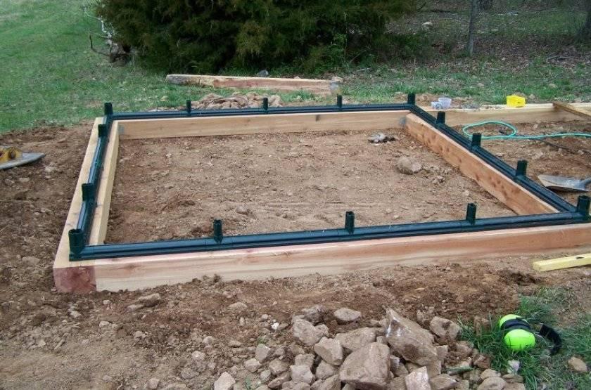 Фундамент под теплицу из поликарбоната: разновидности и установка каркаса