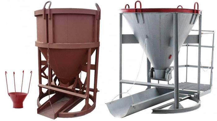 Бадьи для бетона. тара для раствора и сыпучих материалов. оптовые и розничные цены. доставка по россии