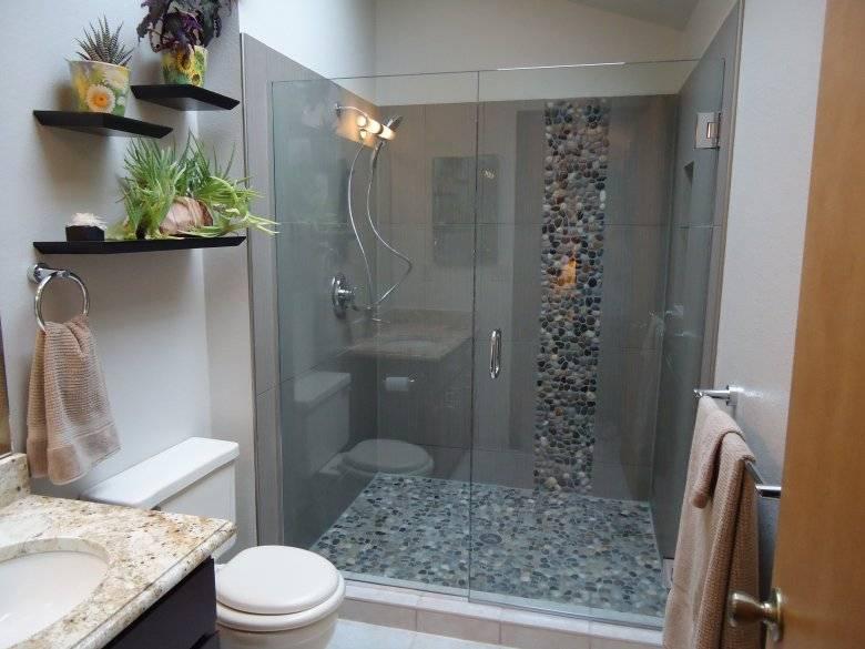 Дизайн ванной комнаты 6 кв. м - 75 вариантов планировки и отделки