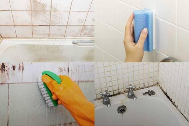 Чем помыть кафельную плитку в ванной от налета в домашних условиях, чтобы она блестела?
