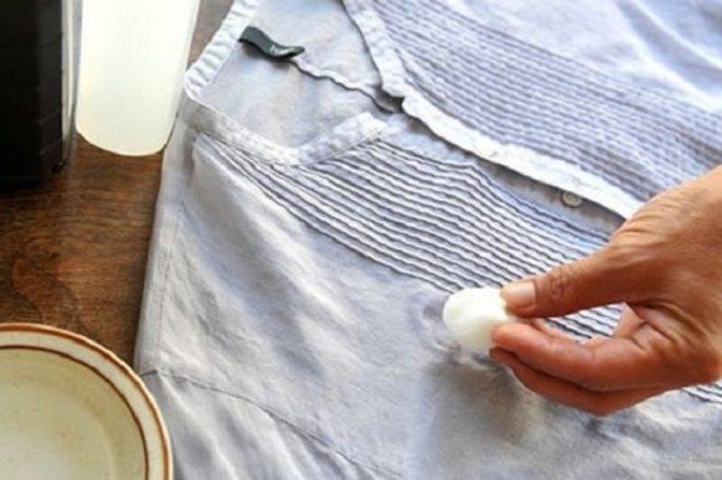 Как отстирать одуванчик с одежды