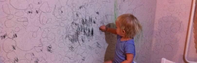 Лучшие способы оттереть следы чернил от ручки с обоев