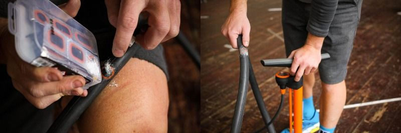 Рекомендации по быстрому ремонту камеры велосипеда, детской коляски или скутера