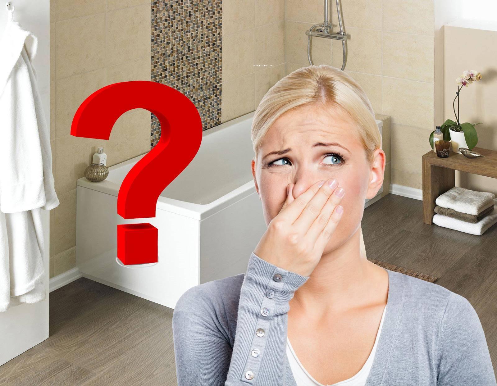 Причины появления и методы избавиться от неприятного запаха канализации в туалете