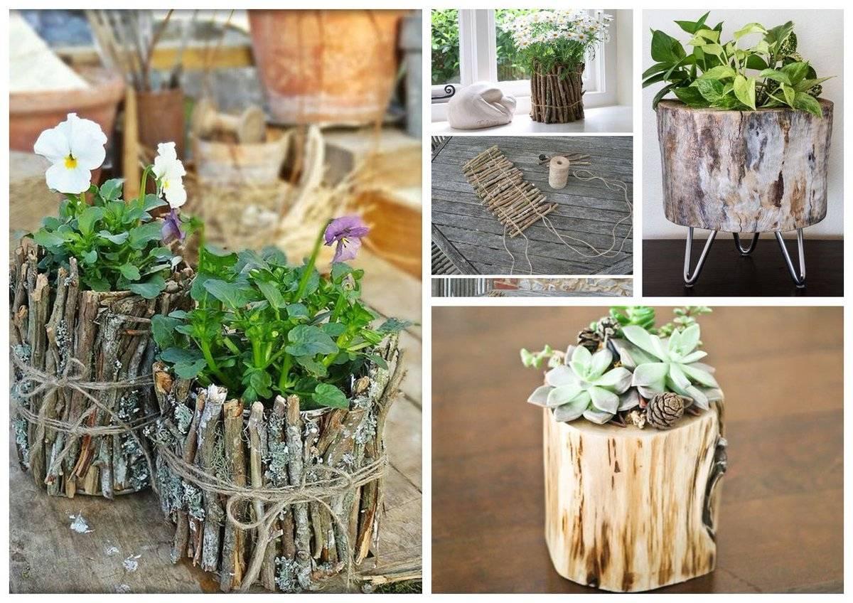 Кашпо для сада — лучшие варианты и оригинальные идеи для украшения цветов (70 фото)