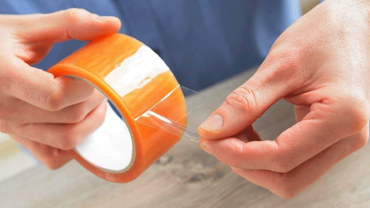 Чем оттереть клей от скотча - удаляем следы от обычного, двухстороннего, малярного с пластика, мебели, стекла, одежды и других поверхностей + фото и видео
