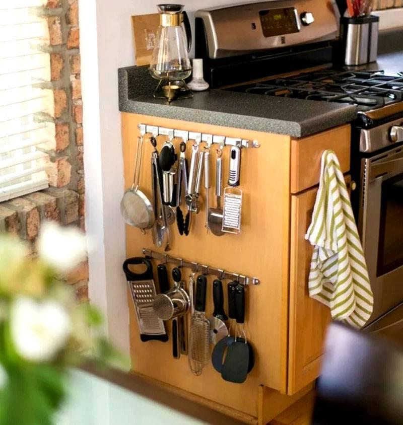 год снял фото порядка на кухне держатель