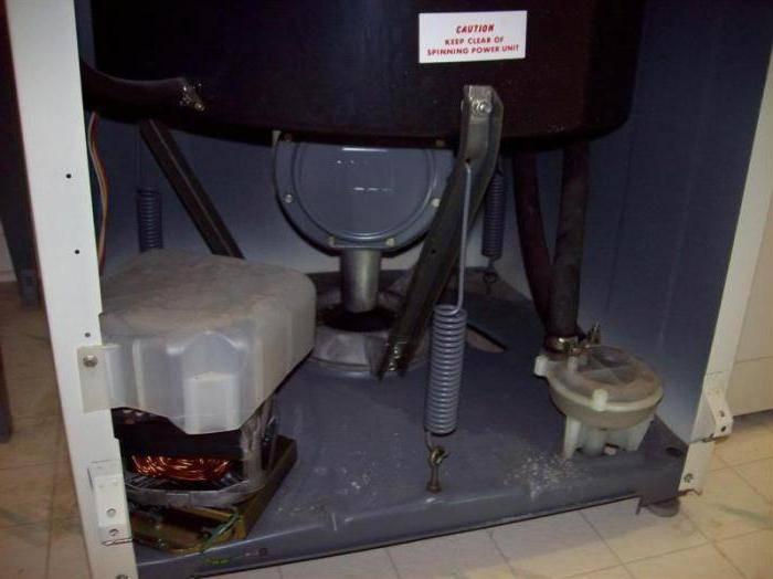 Прыгает стиральная машина при отжиме: что делать, как устранить, причины