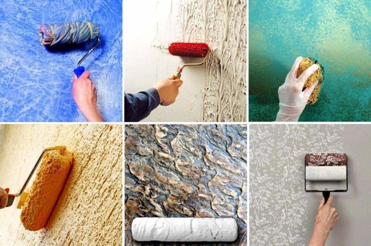 означает, что декор стены краской своими руками фото подборка того