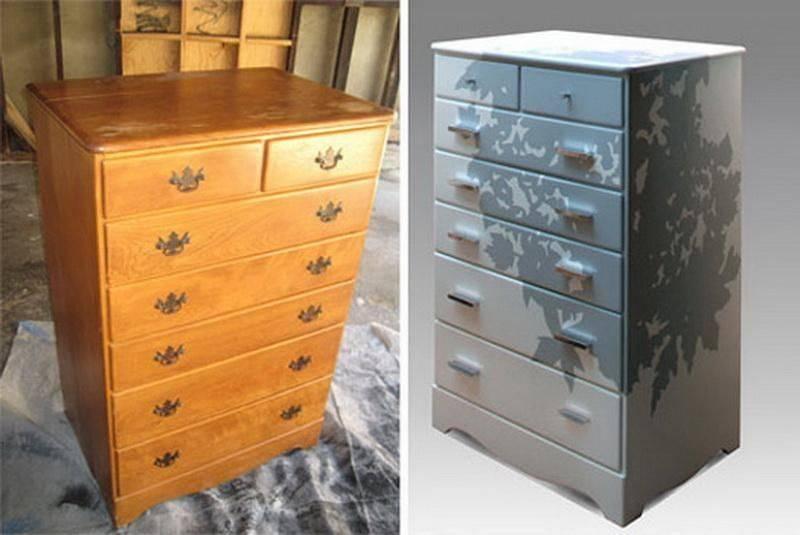 Реставрация старой мебели: даём новую жизнь комоду