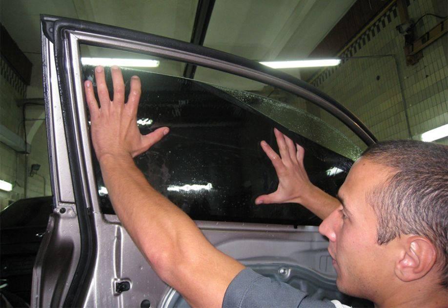 Тонировка авто своими руками без фена. как затонировать машину самому? что для этого нужно?
