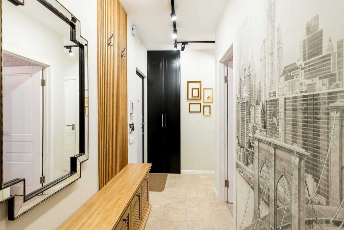 Фотообои для узкого коридора фото