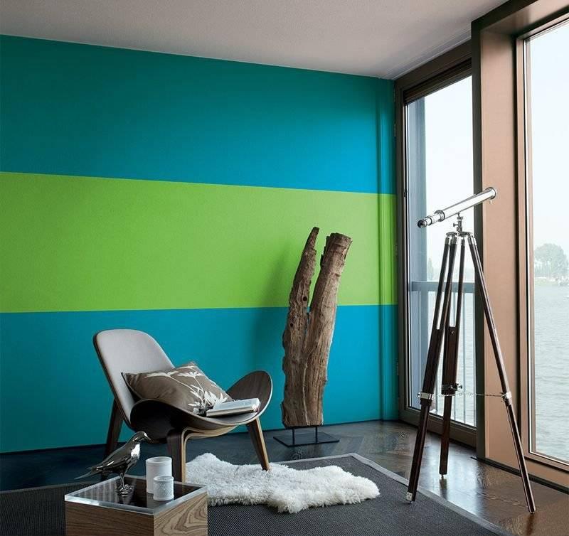 уверена, что варианты покраски стен в квартире фото правильные