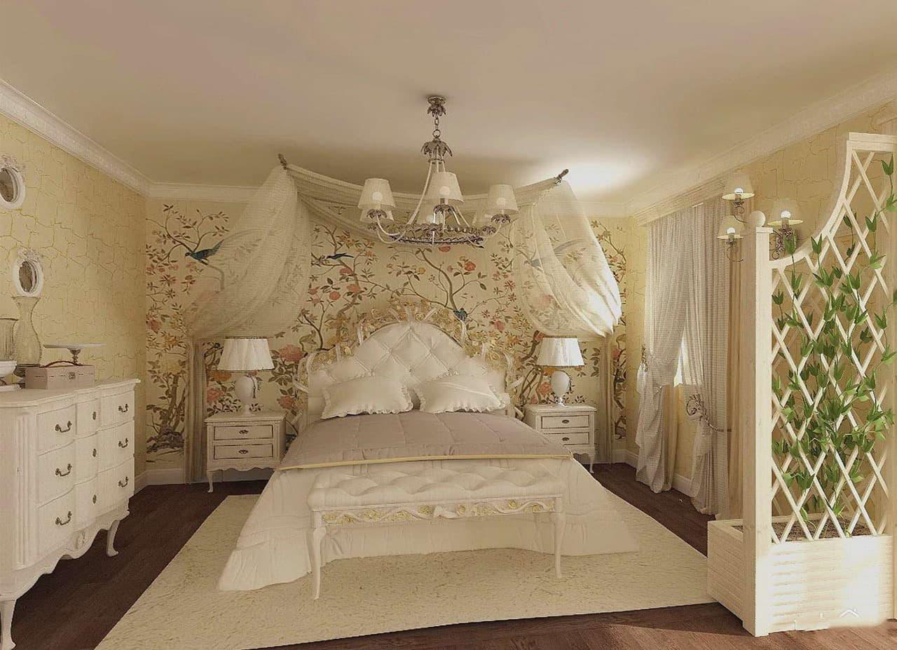 Спальня в стиле прованс: фото интерьеров, советы по оформлению