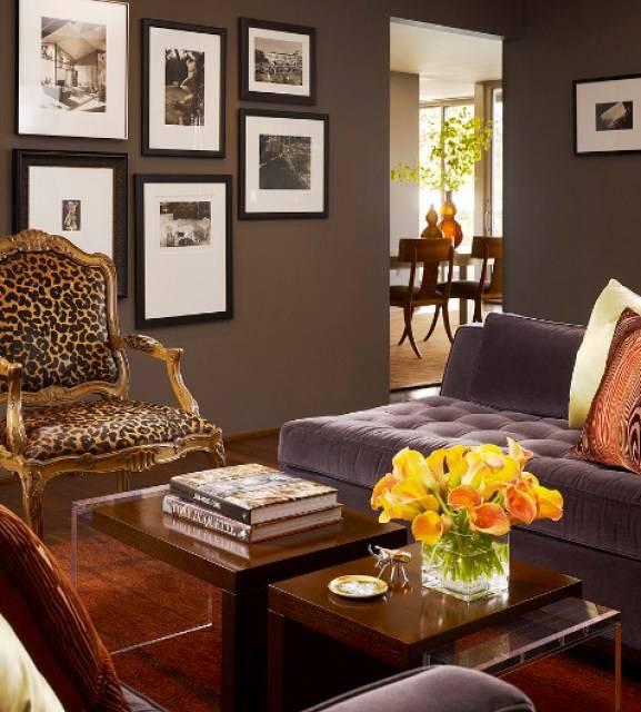 признался, что с каким цветом сочетается коричневый цвет в интерьере фото установленные