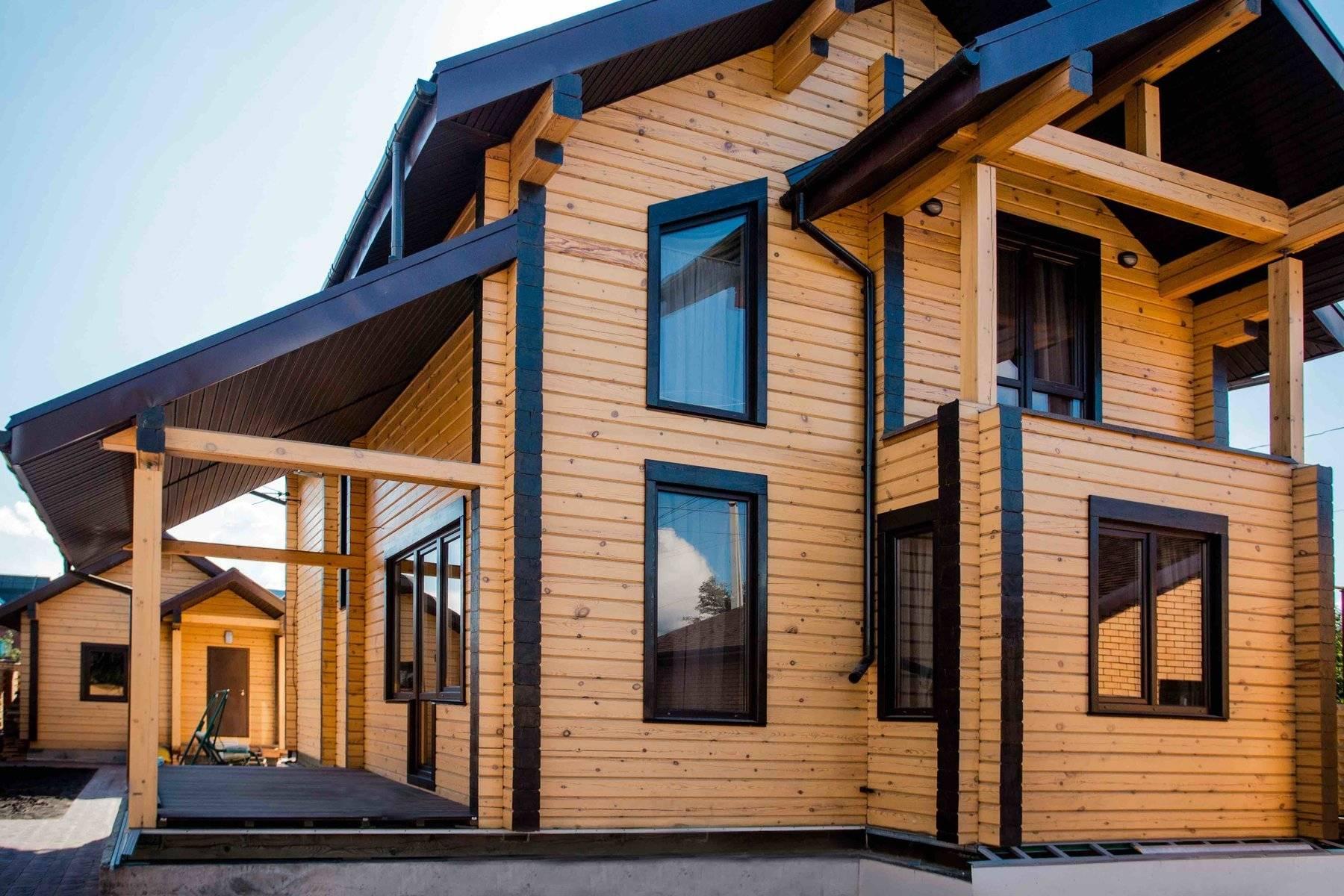 они внешний вид домов из бруса фото вот