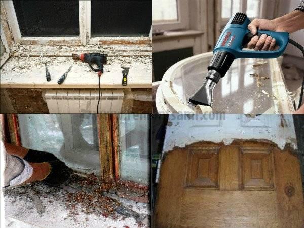 Как снять со стен старую масляную краску: 4 быстрых и надежных способа