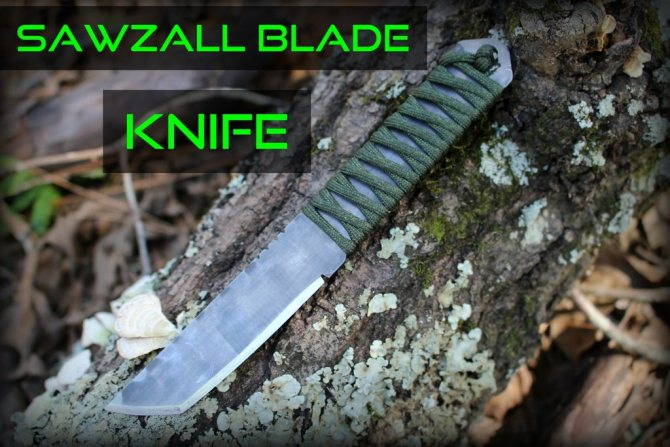 Самодельные ножи из обыкновенной пилы