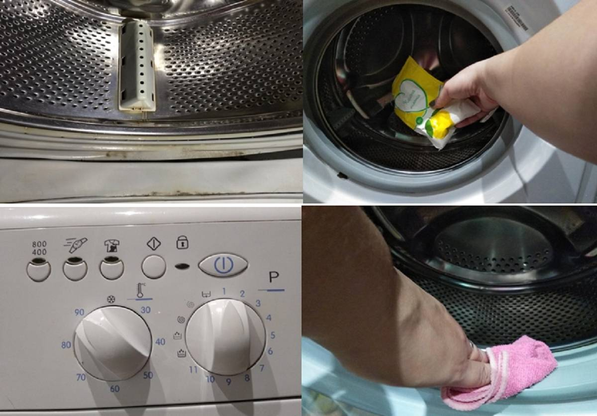 Как удалить сильный неприятный запах из стиральной машины?