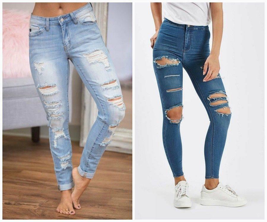 прощеное рваные джинсы своими руками мастер класс фото отек какой-то части