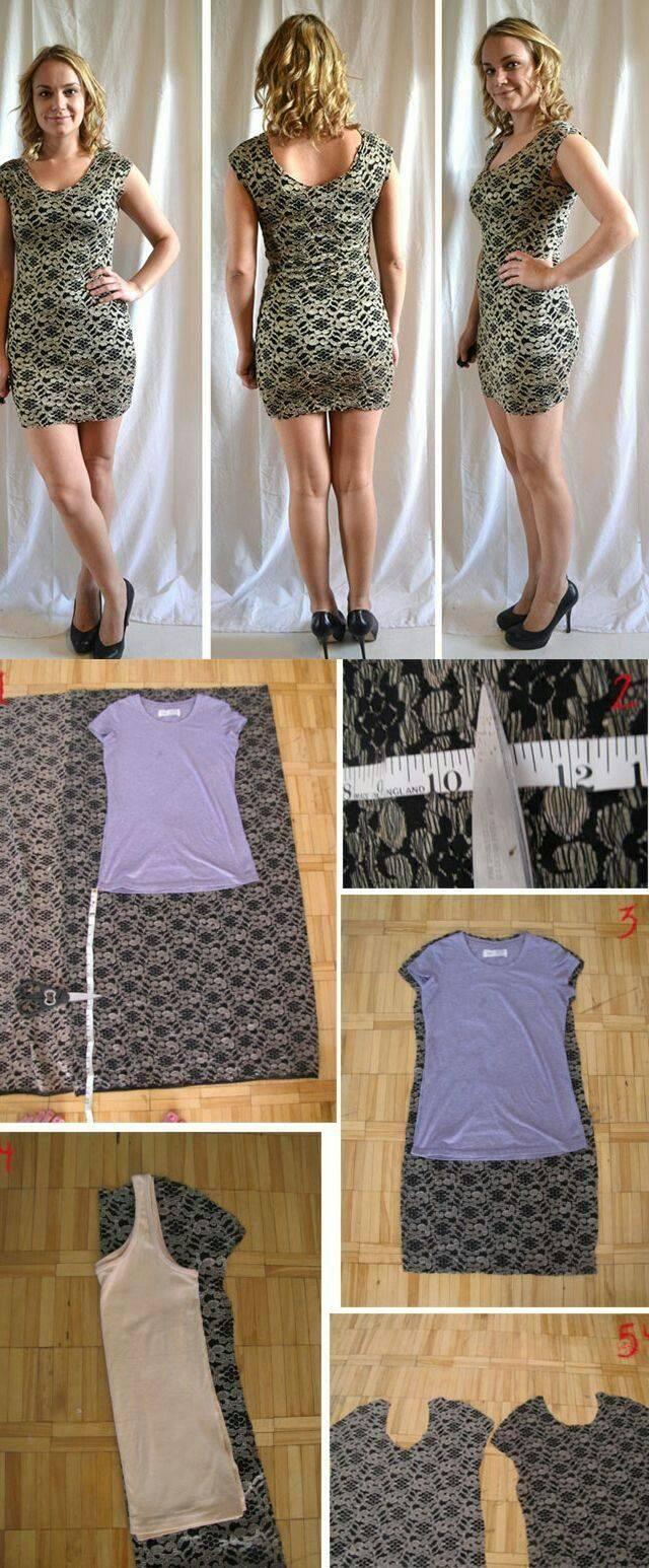 Как переделать платье своими руками фото наши